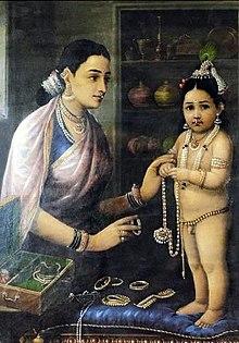220px-Raja_Ravi_Varma,_Yasoda_Adorning_Krishna